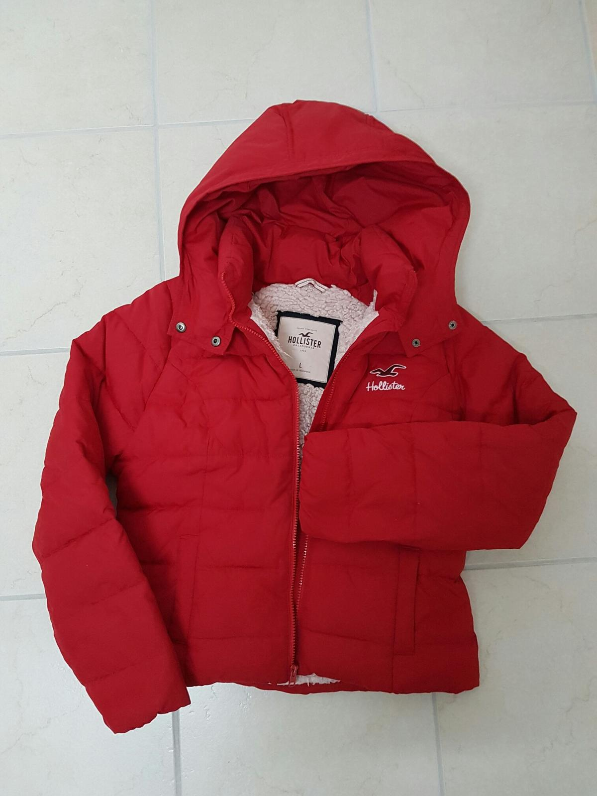 Hollister winterjacke rot winter jacke in 22848 Norderstedt