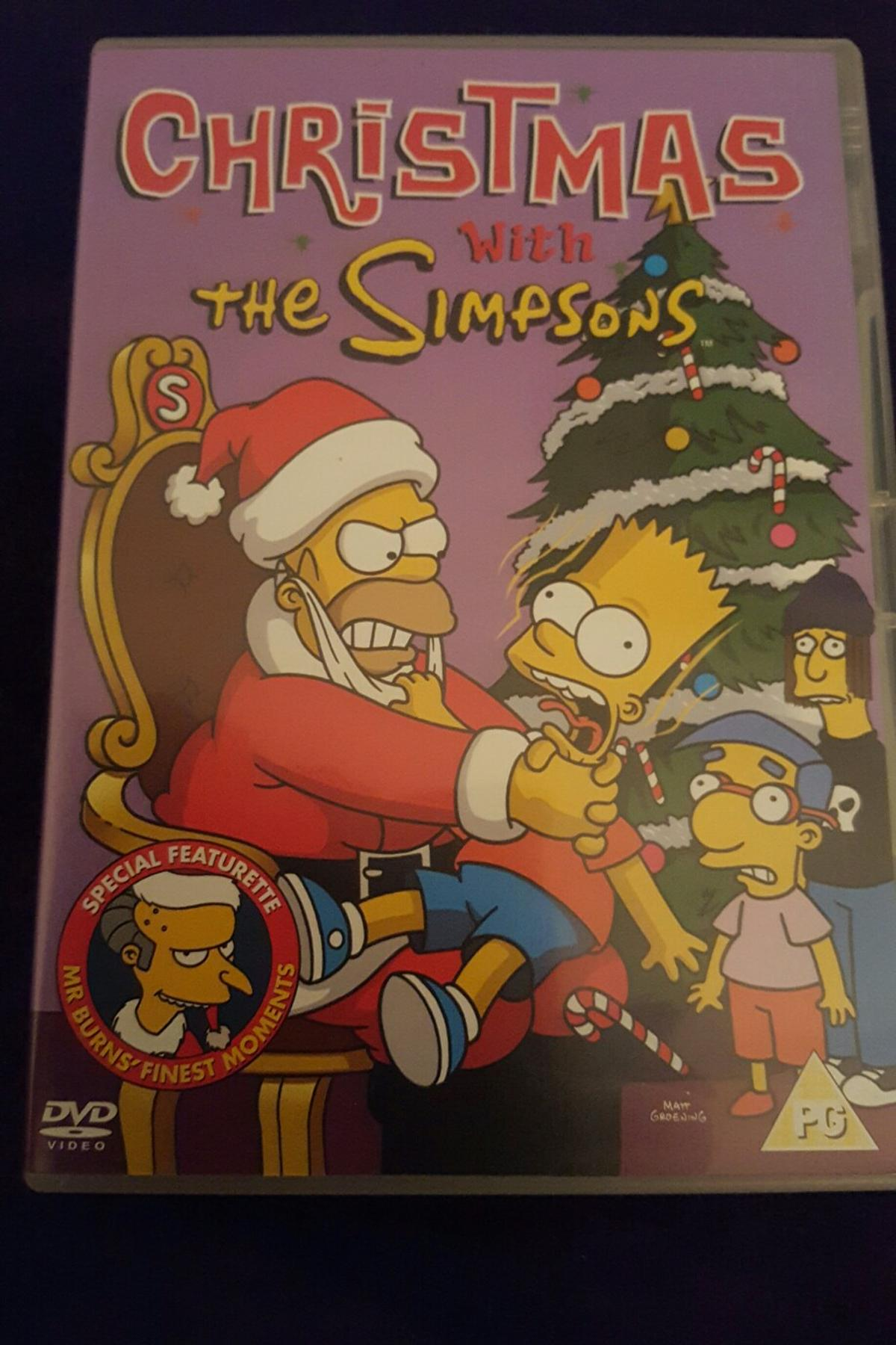 The Simpsons Christmas Dvd.Christmas With The Simpsons Dvd
