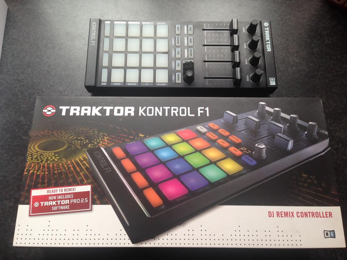 Native Instruments Traktor F1 controller in B46 Coleshill