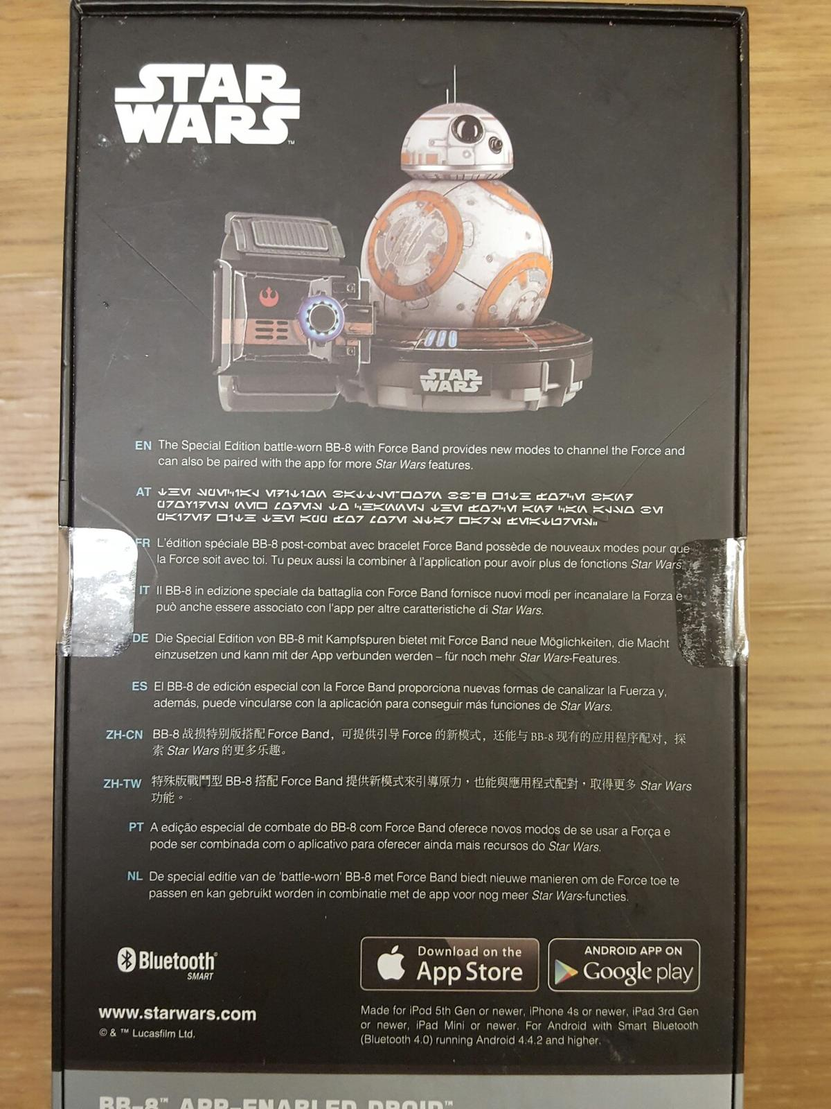 BB8 app enabled droid & force band sp edn in KT14 Byfleet for