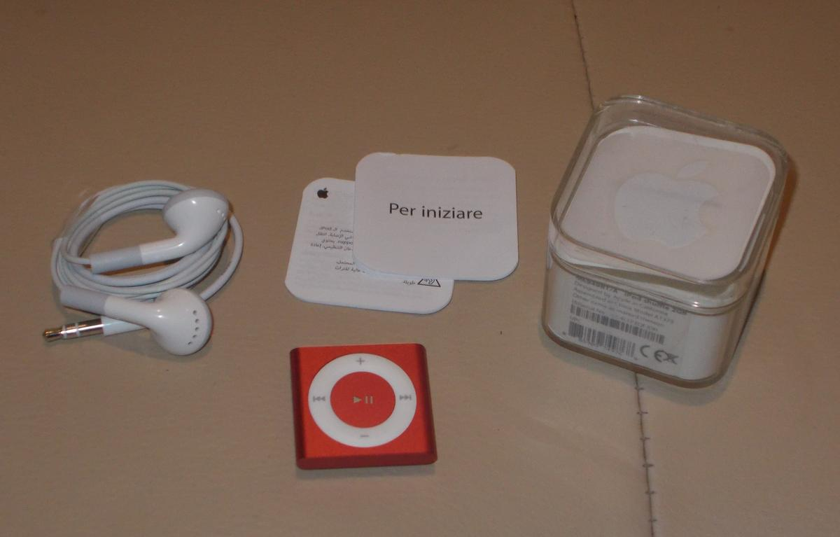 apple ipod shuffle mp3 player instructions