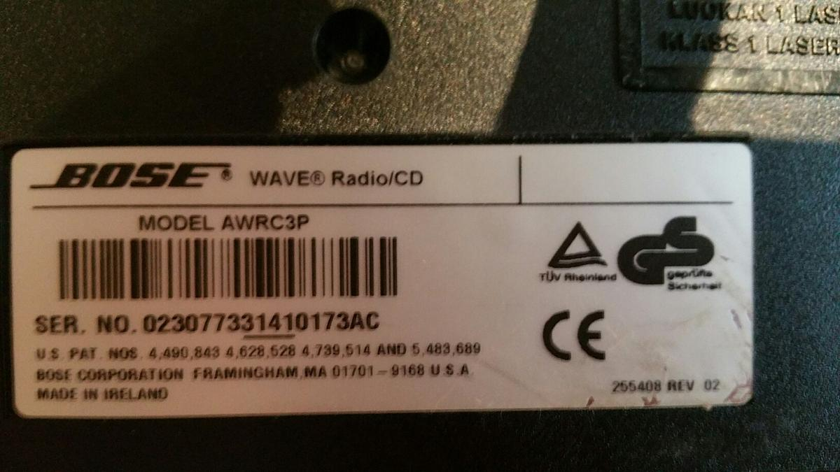 Bose wave radio/cd in CM23 Hertfordshire for £70 00 for sale