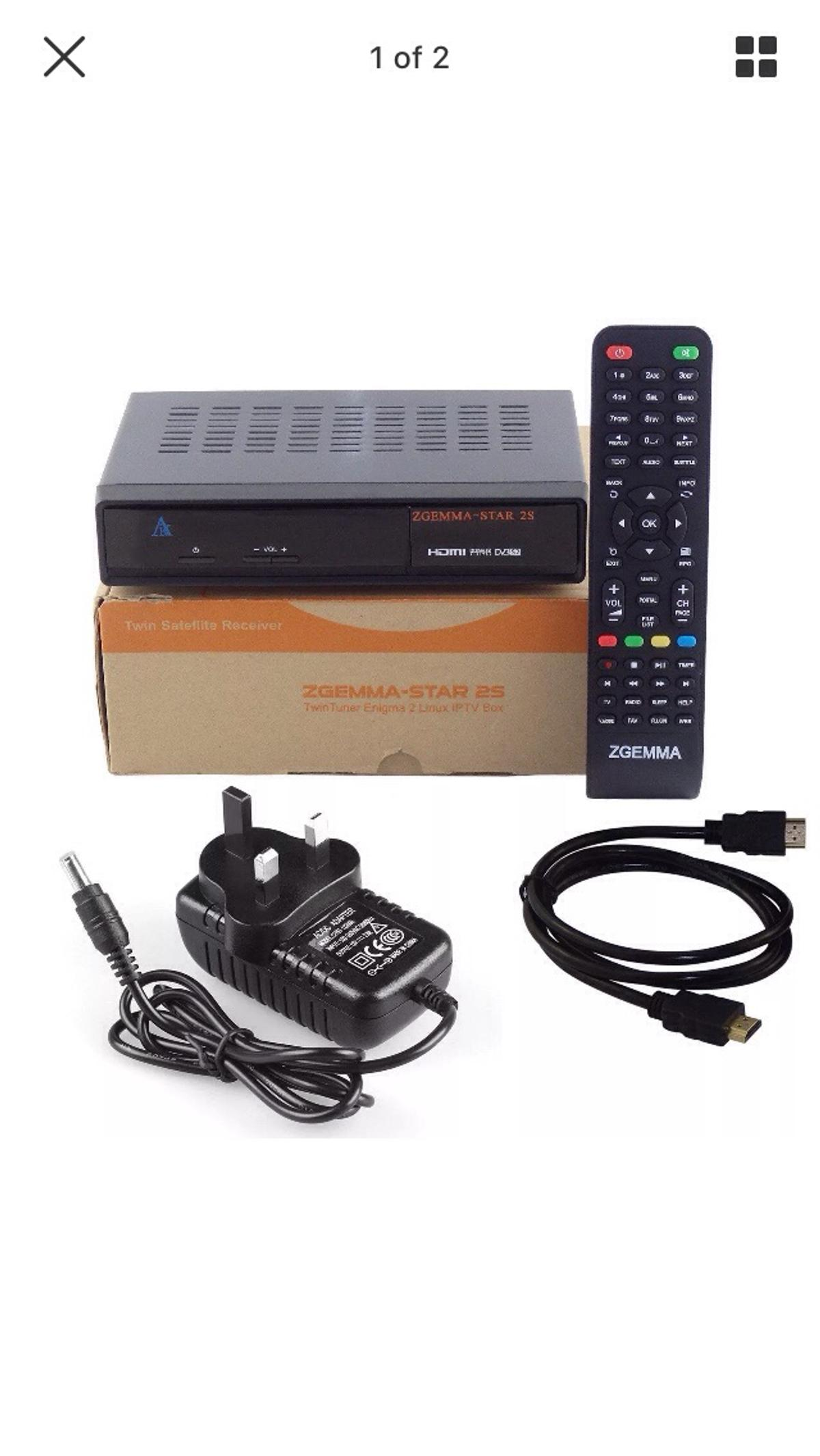 zgemma star 2s +12 month all channels in WF15 Liversedge for £100 00