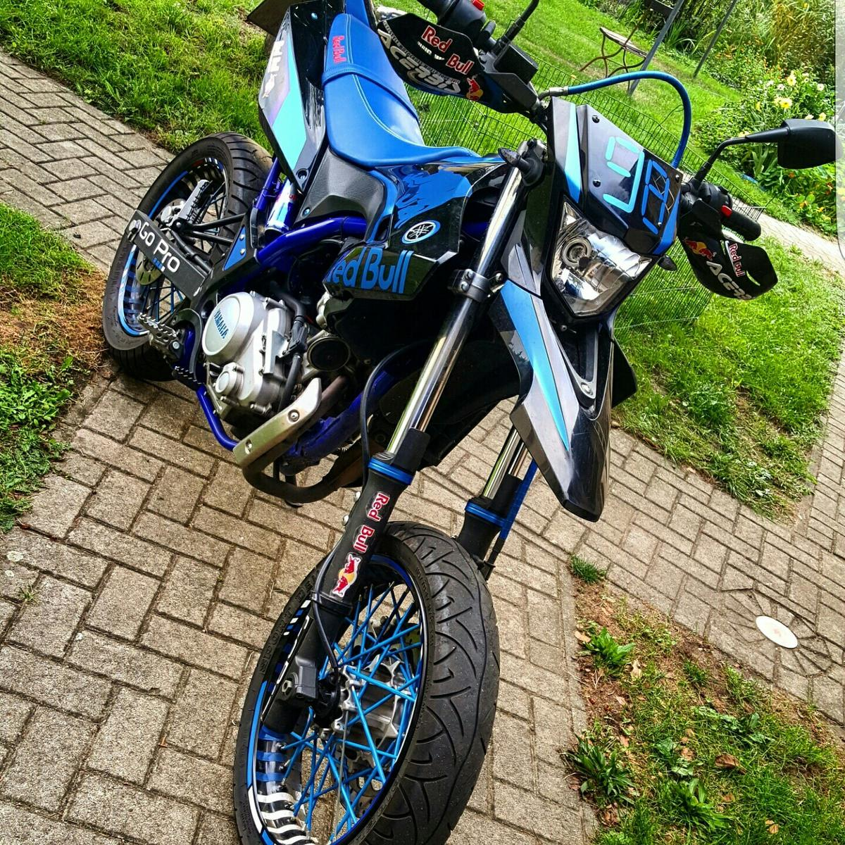 yamaha wr 125 x red bull top zustand in 15848 beeskow for 3 for sale shpock. Black Bedroom Furniture Sets. Home Design Ideas