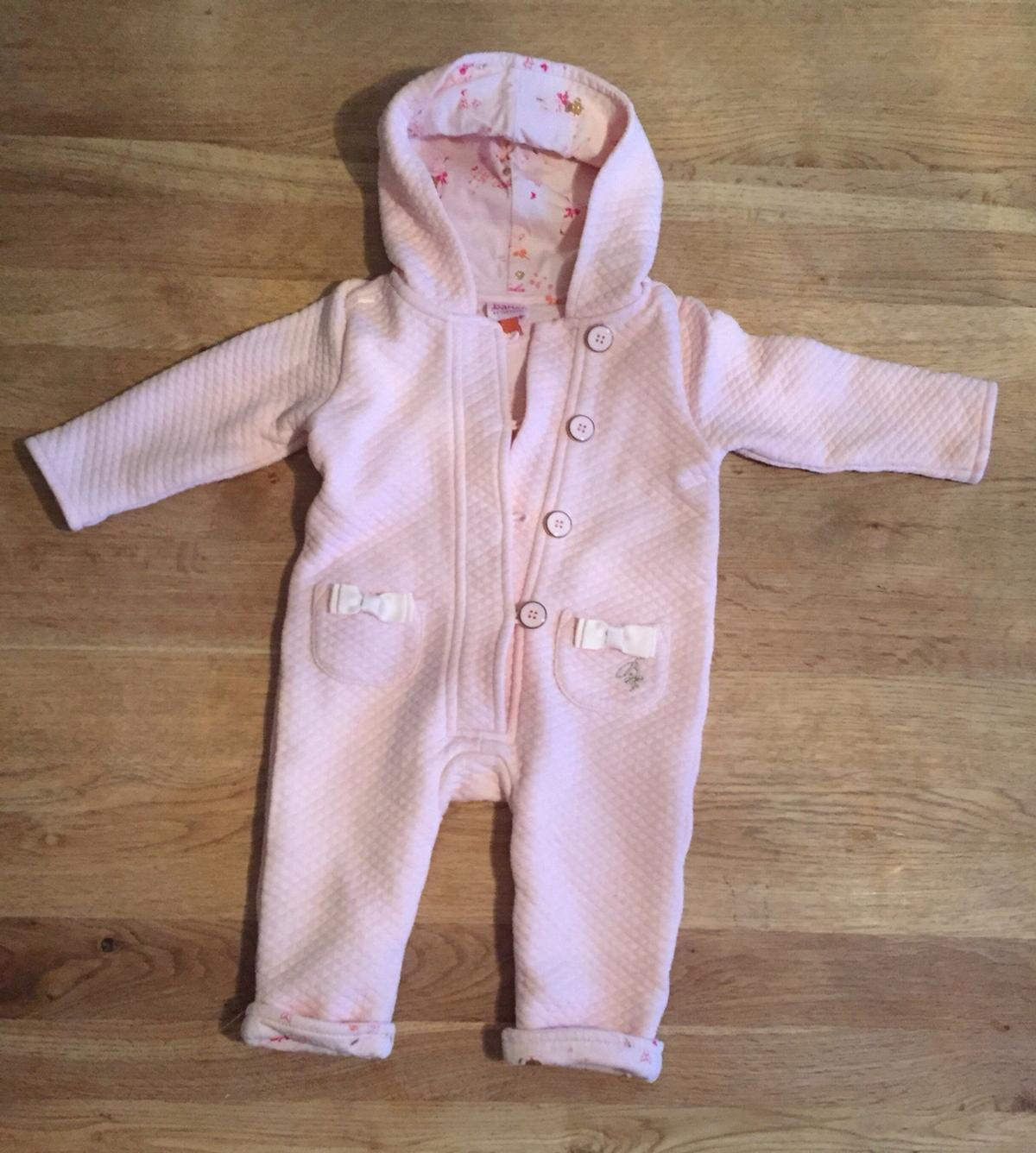 036e6a472b6a0f Description. Lovely girls Pram Suit from Ted Baker Size 6-9 months