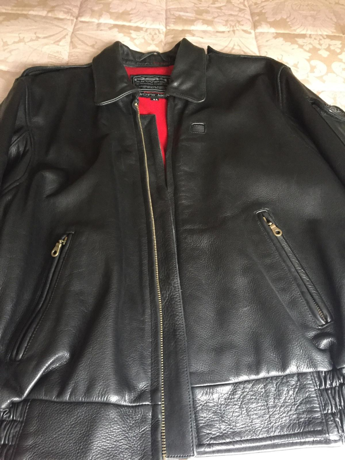 e0d5c8632 NEW RSH AIRWEAR LEATHER FLYING JACKET