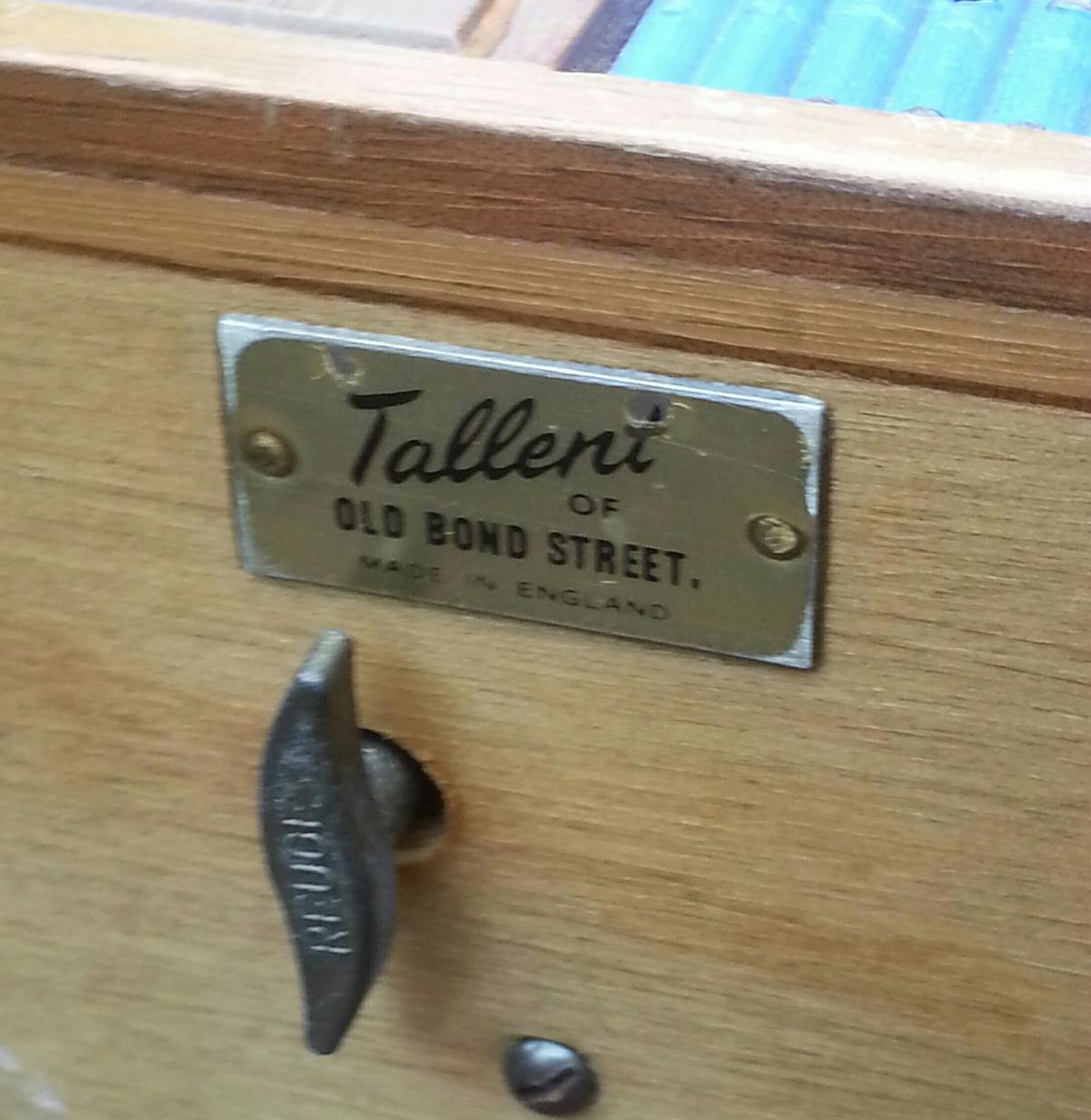 1950's tallent reuge swiss wind up music box in BB2
