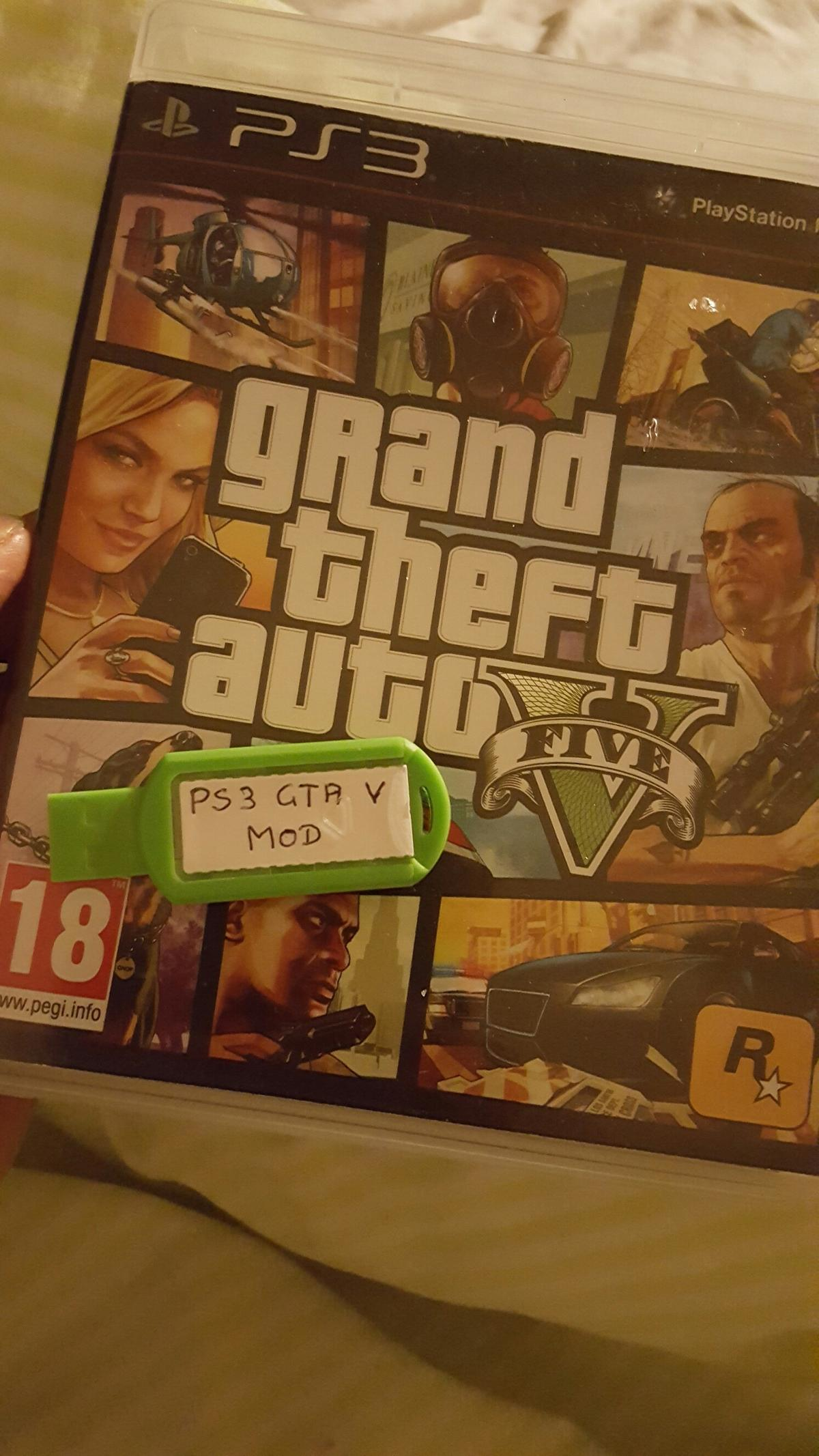 Gta 5 usb modd menu PS3 , PS4 , XBOX ONE