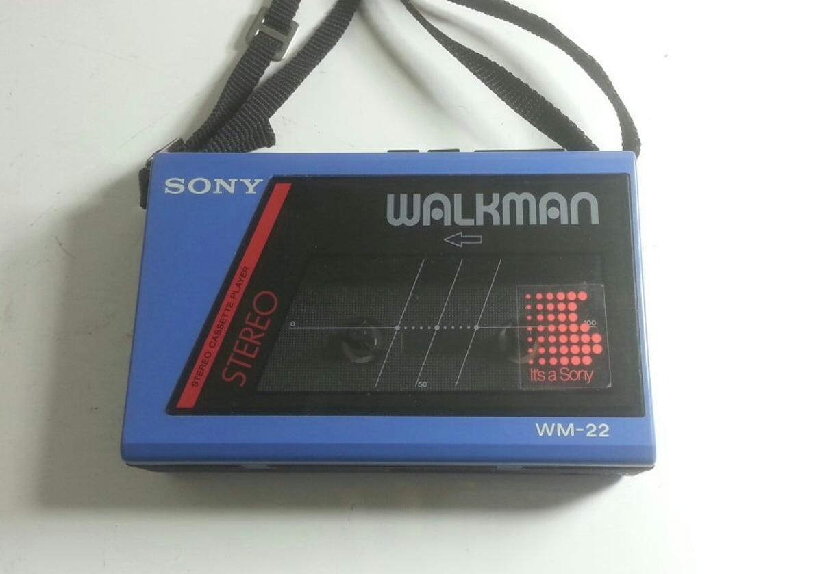 Vintage Sony Walkman cassette tape player