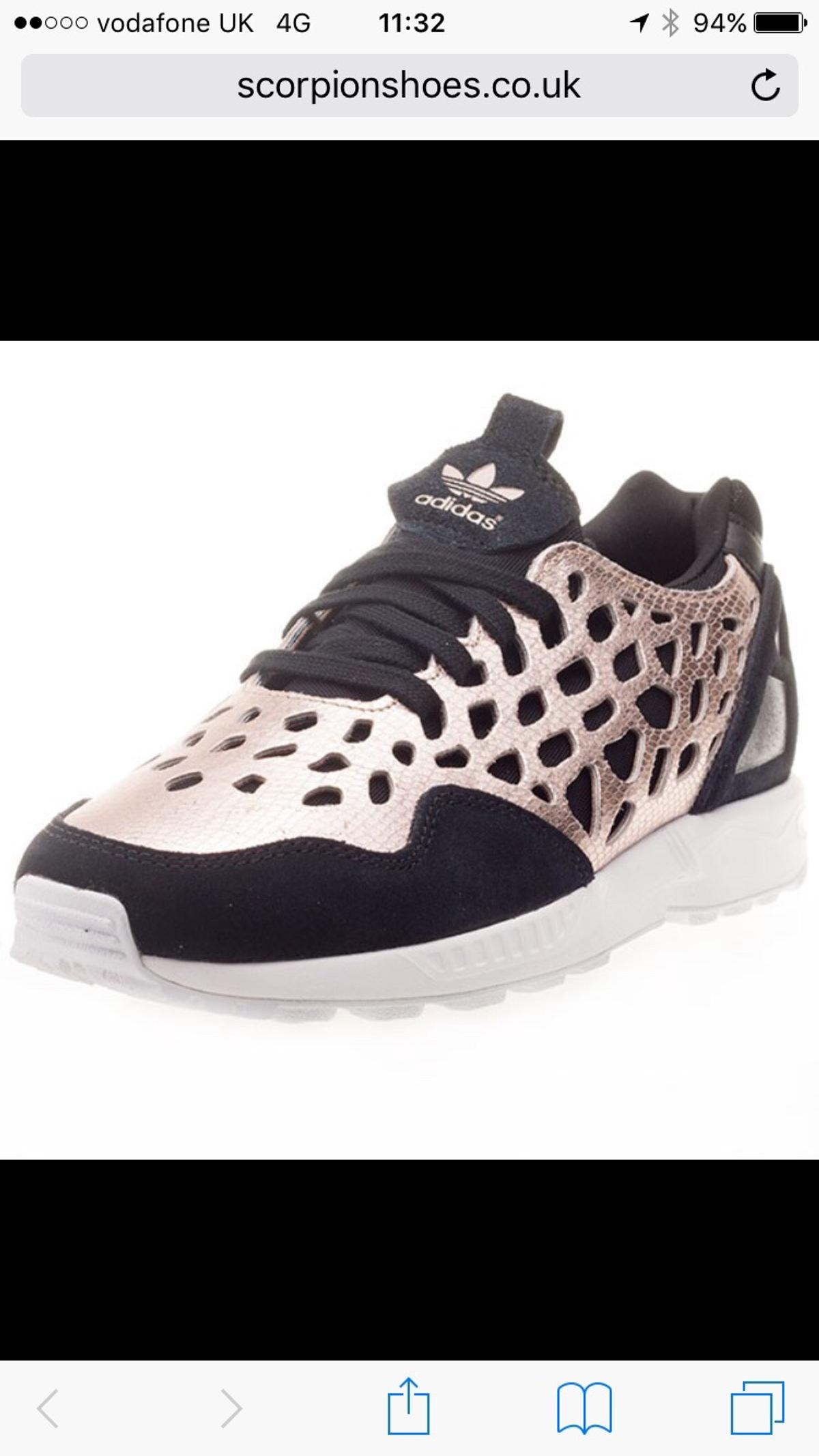 47fc33520 Adidas ZX Flux Torsion Trainers in Black Gold in G41 Glasgow for ...