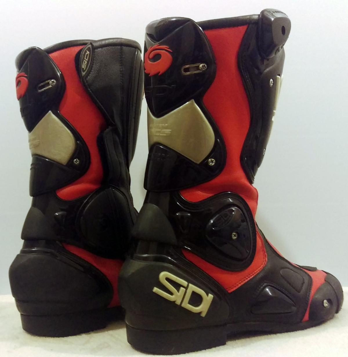 Sidi Vertebra 2 Motorcycle Boots Eu 41 Uk 7 In Ne38 Washington For