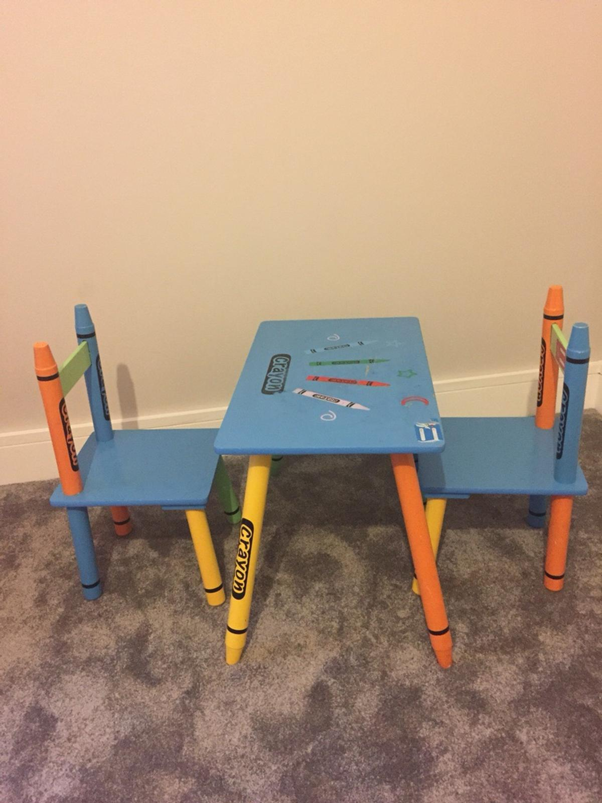 Sensational Crayon Kids Table And Chairs Ocoug Best Dining Table And Chair Ideas Images Ocougorg