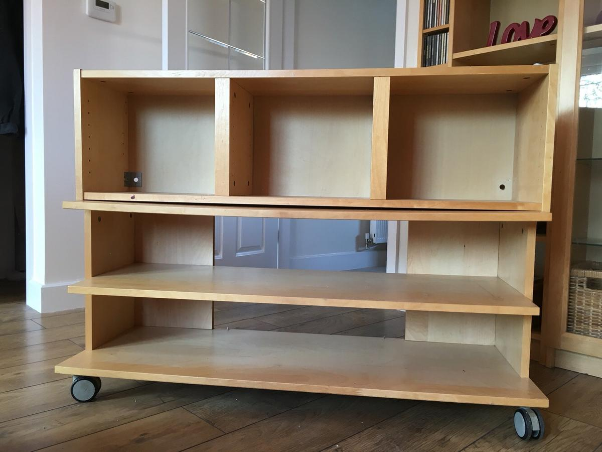 Ikea Billy Units And Matching Tv Stand
