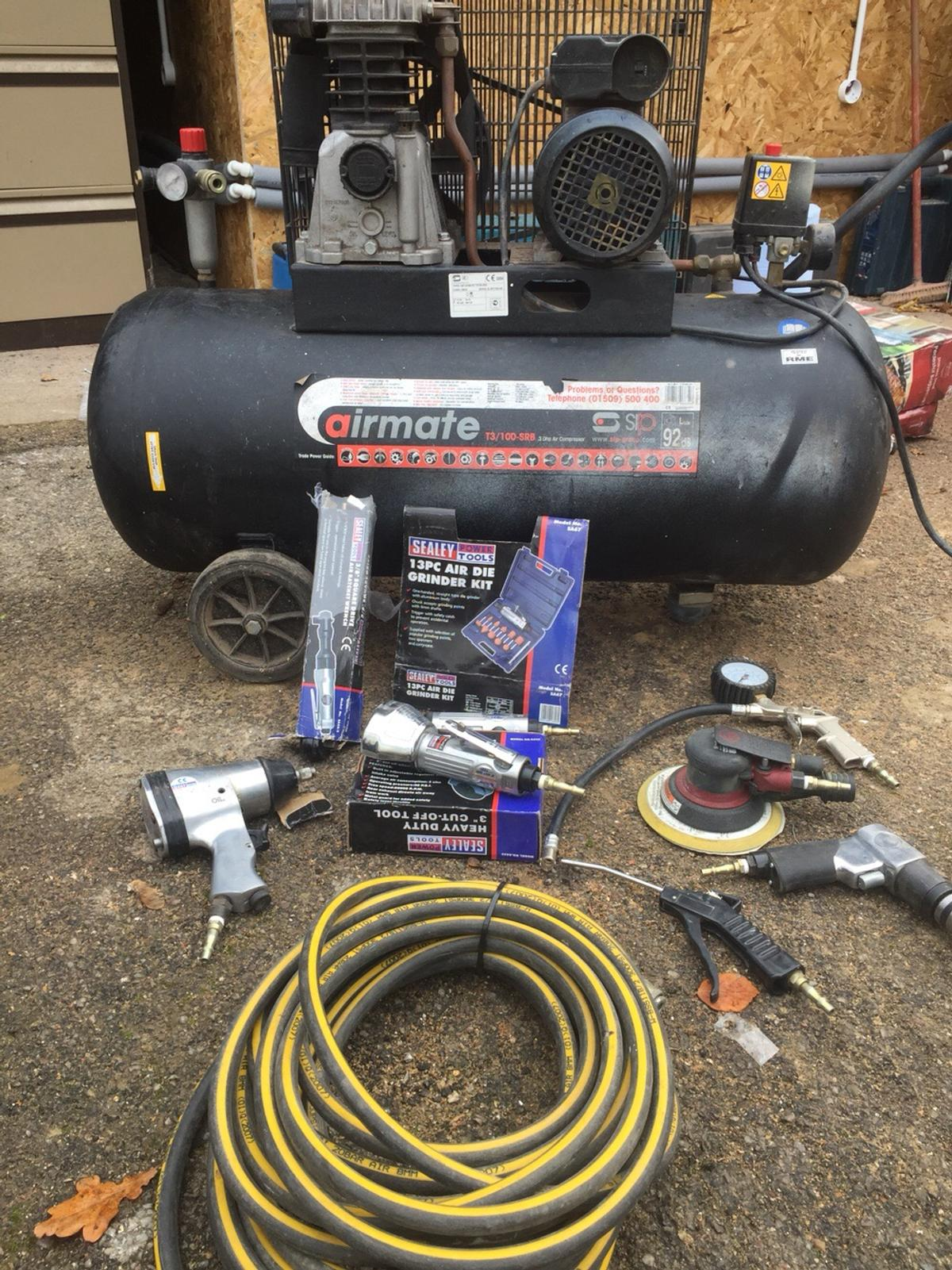 Fabulous Compressor 100L Tank 3 0Hp Loads Of Newtools In Kt16 Chertsey For Wiring 101 Cranwise Assnl