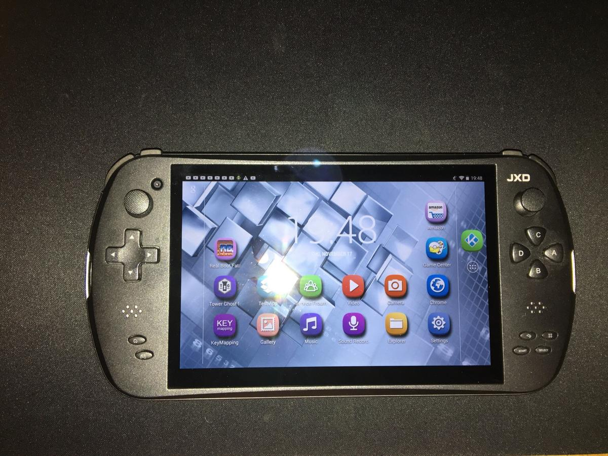JXD 7800b android game console/tablet