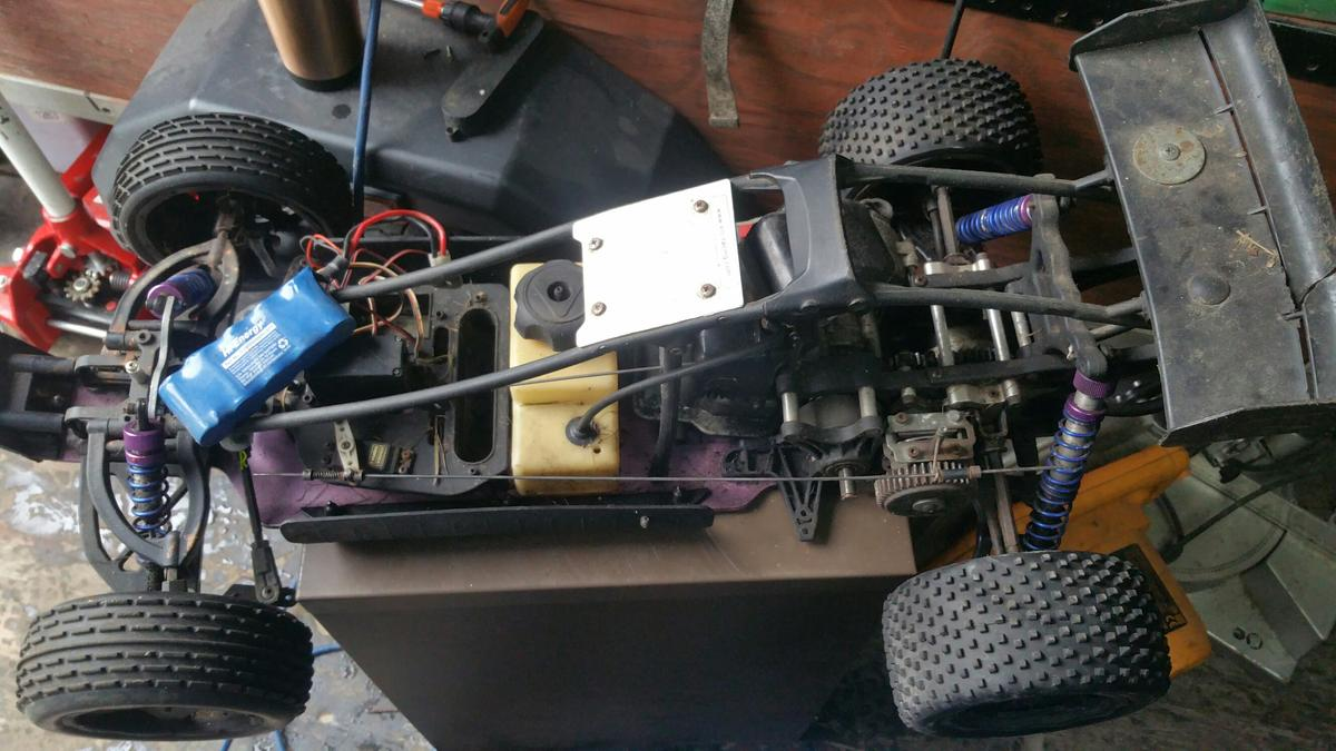 1/5 scale 2-stroke buggy rc car in BL2 Bolton for £120 00 for sale