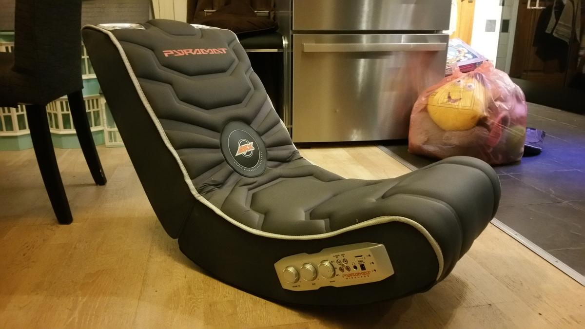 Phenomenal Pyramat Gaming Chair S2500W Wireless In Ss9 Sea Fur 50 00 Gamerscity Chair Design For Home Gamerscityorg