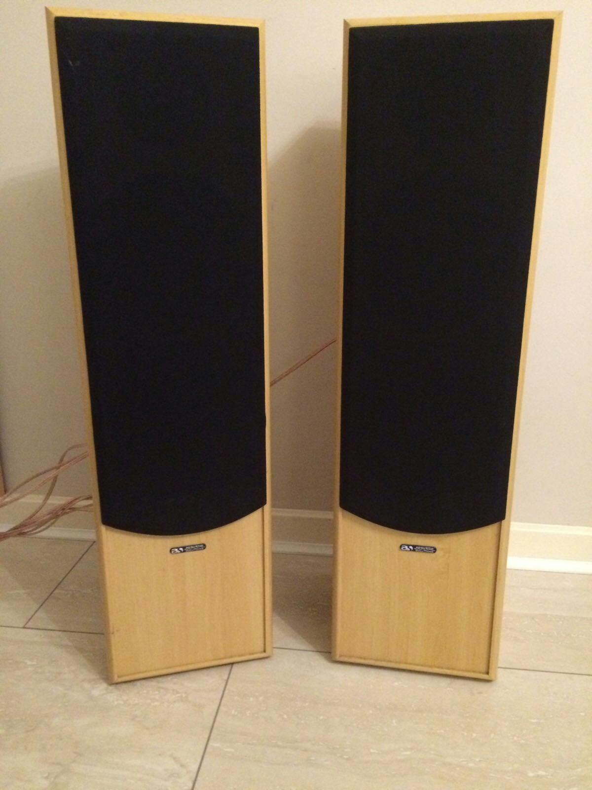 Yamaha amp + acoustic solutions speakers