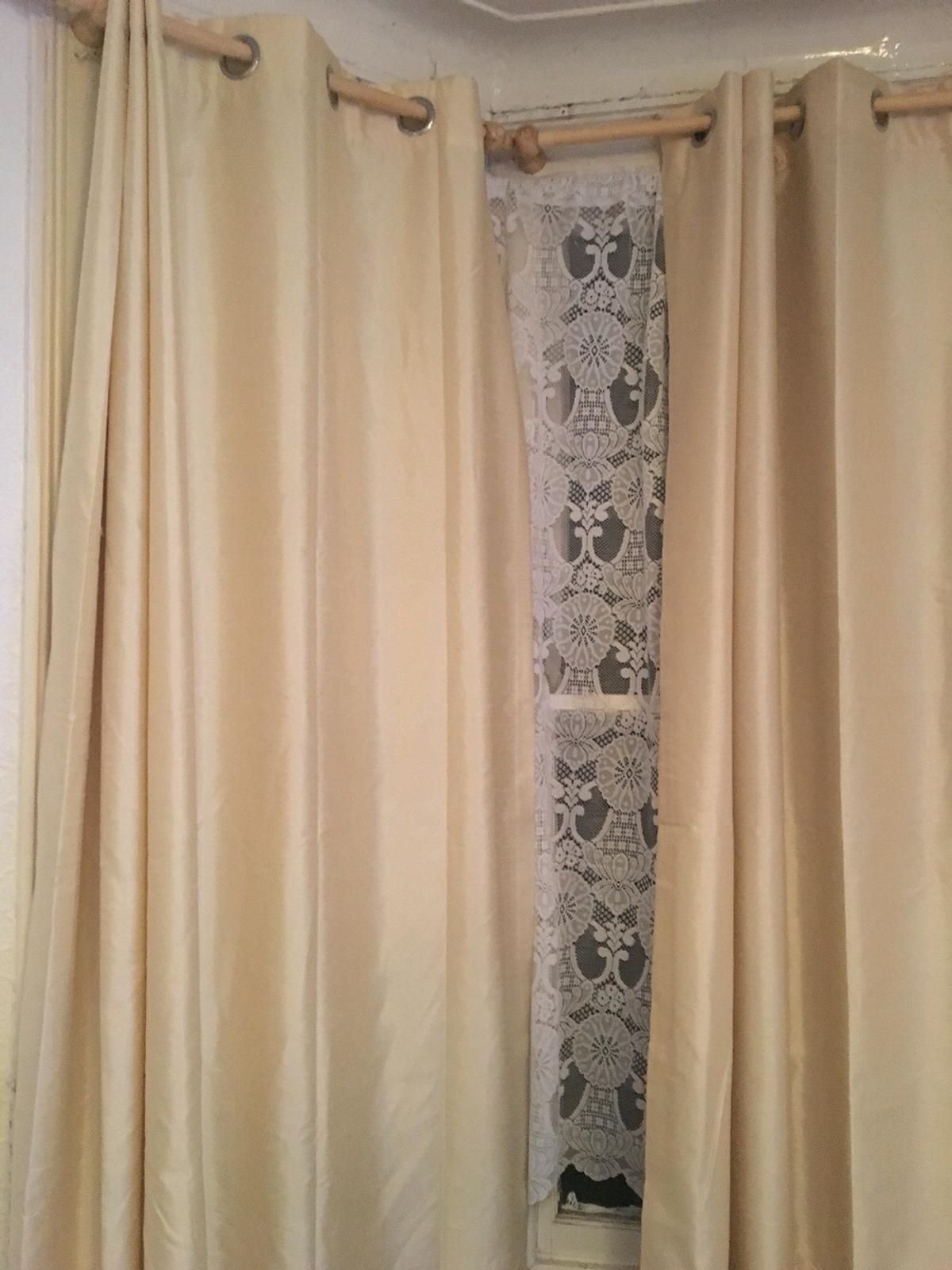 Image result for creamy beige curtains