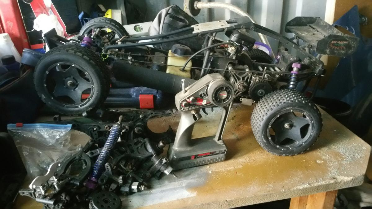 1/5 scale 2-stroke buggy rc car in BL2 Bolton for £120 00