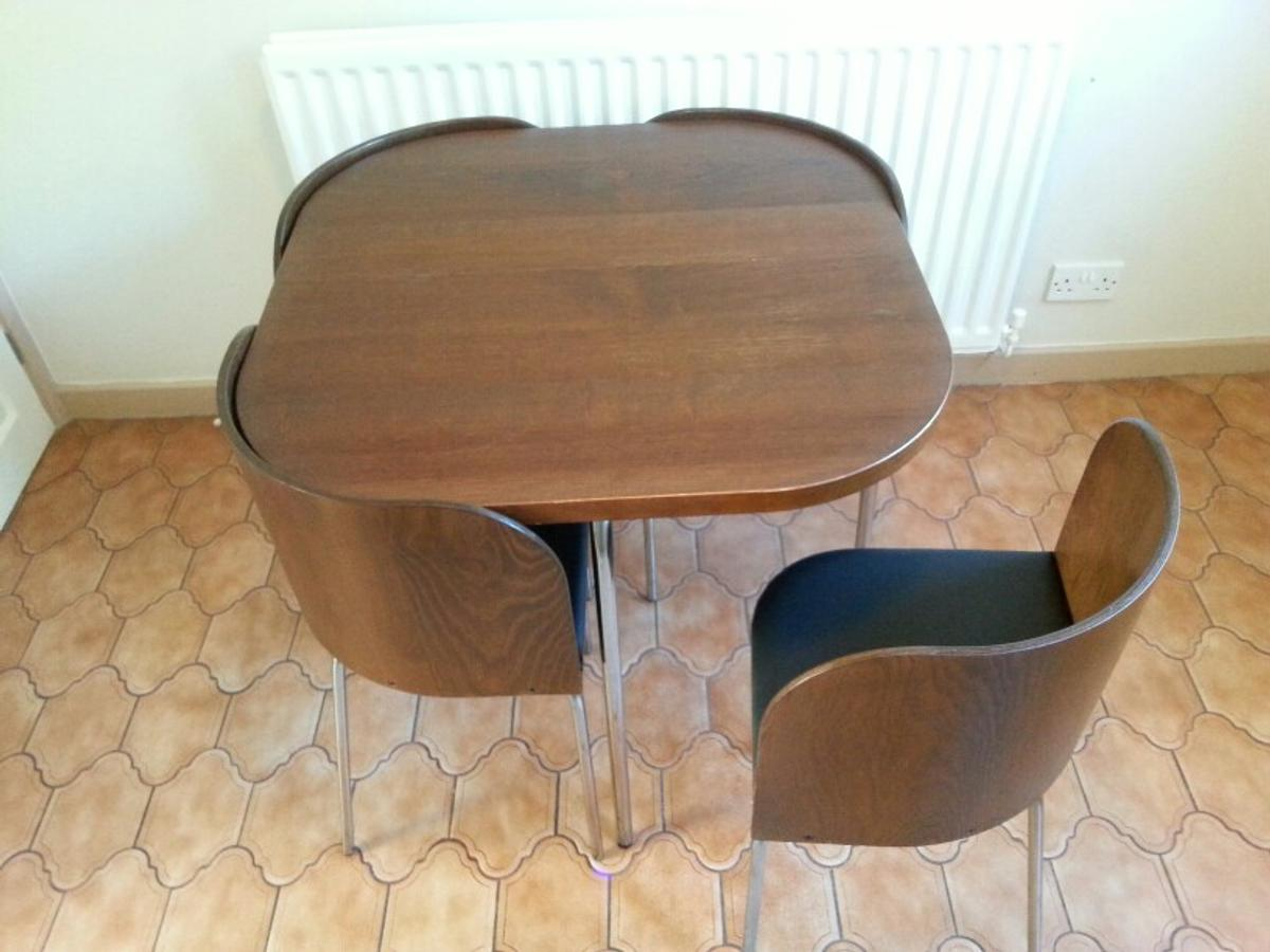 Ikea Fusion Compact Dining Table Chairs In Sr8 Peterlee For 99 00 For Sale Shpock