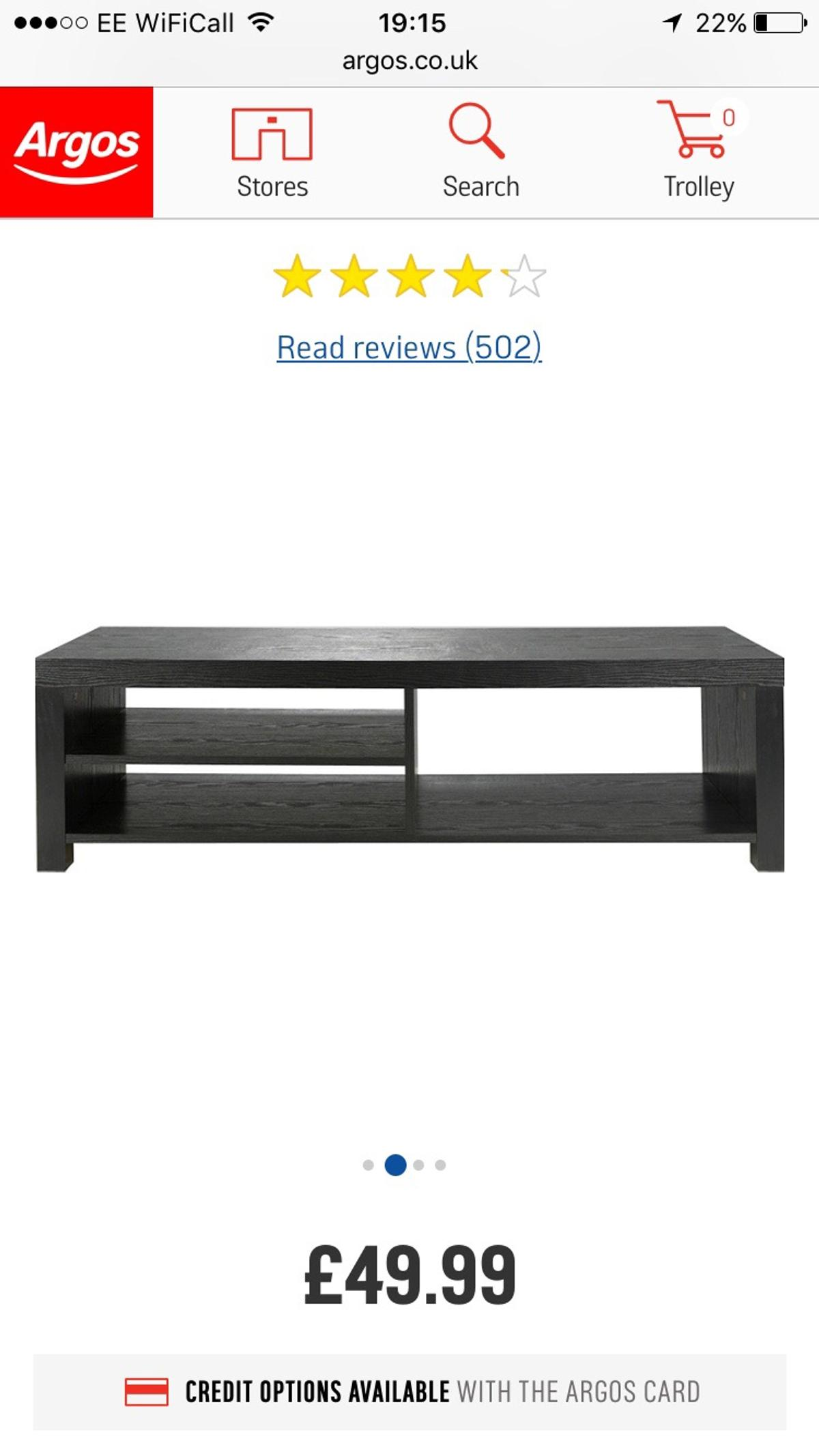 Black tv stand  in DH7 Brandon for £20 00 for sale - Shpock