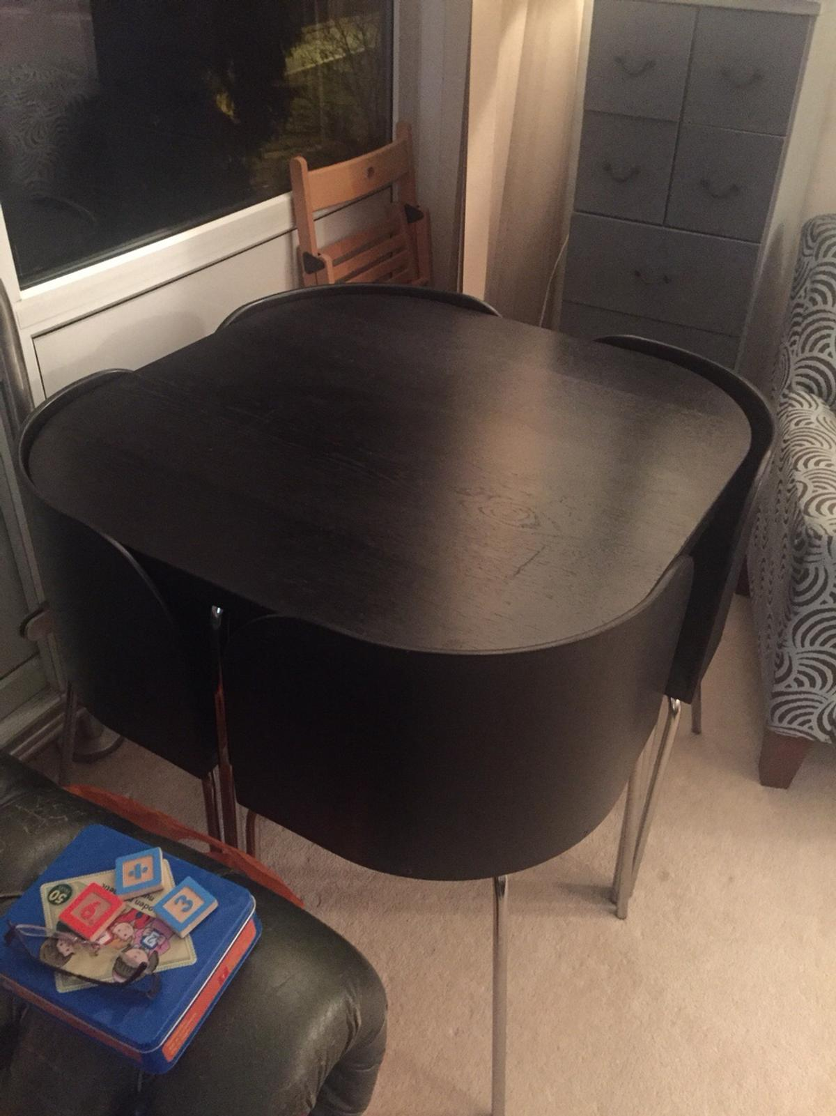 Ikea Fusion Space Saving Dining Table Chairs In B93 Dorridge For 60 00 For Sale Shpock