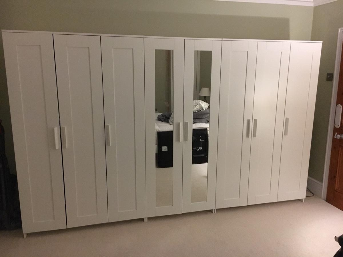 IKEA Brimnes wardrobes x 3 in IG8 Woodford for £200 00 for
