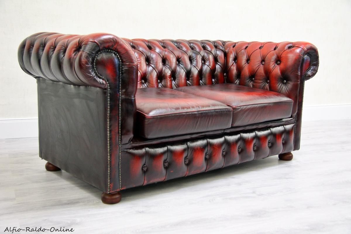 Chesterfield Sofa Antik Vintage Garnitur In 33758 Schloss Holte Stukenbrock For 1 799 00 For Sale Shpock