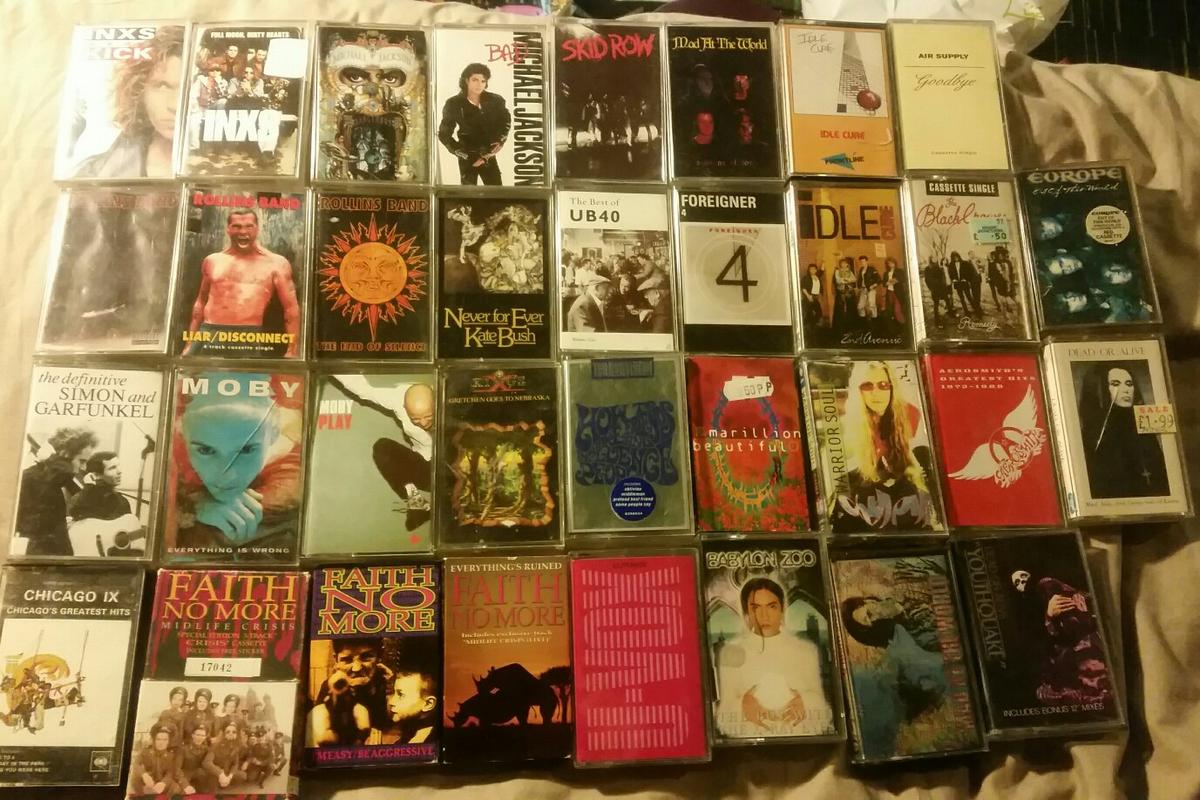Loads of Cassette Tapes-70s 80s 90s