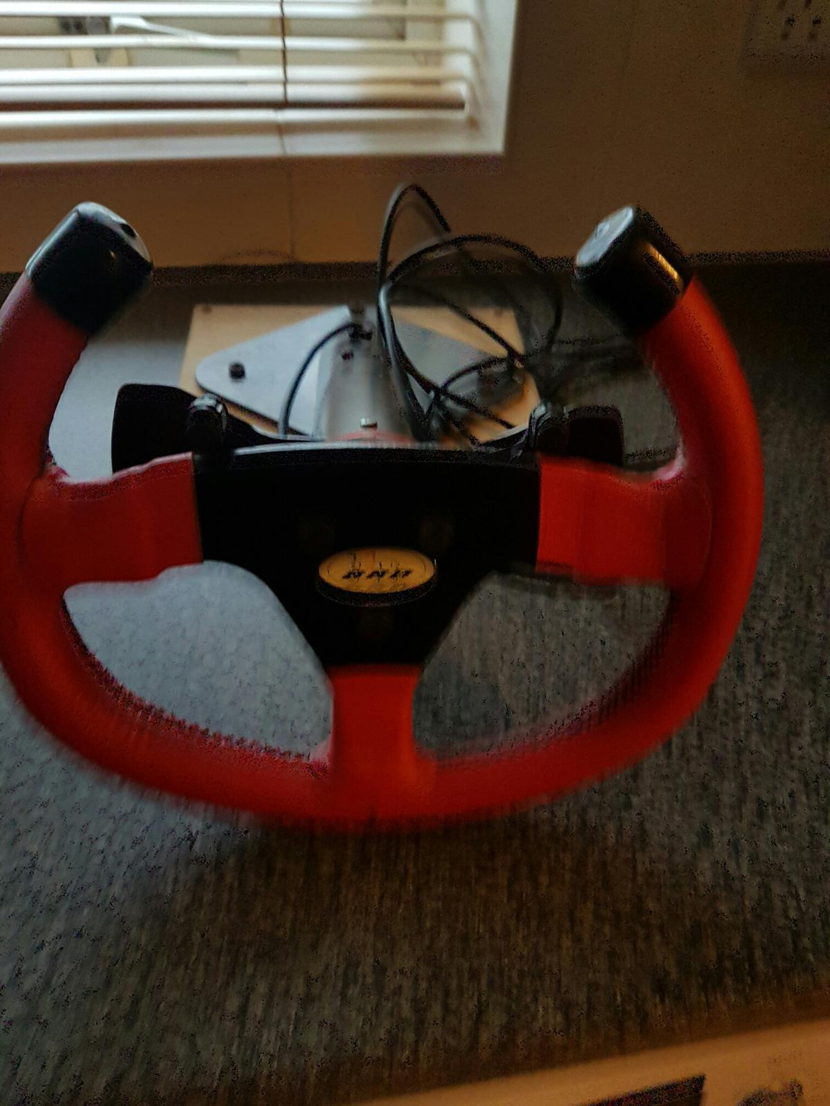 BRD Sim Pro V2 wheel and SPEED 7 pedals in SG1 Stevenage for