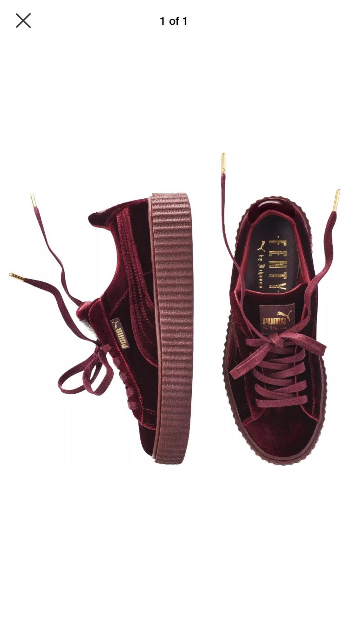newest 6a25f 85f59 Puma x Rihanna Velvet Fenty Creepers UK 6 in SW15 London für ...