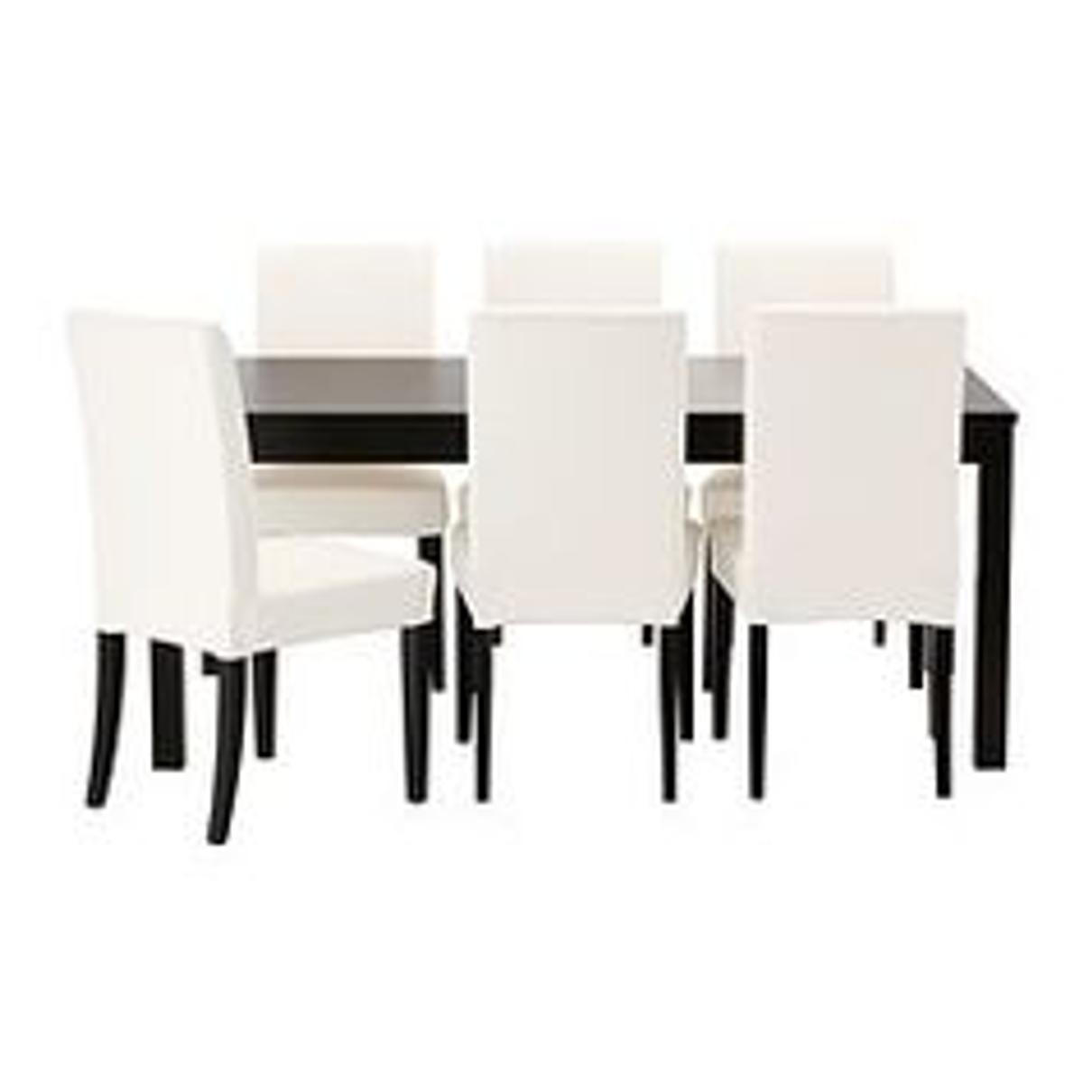 Fodere Per Sedie Ikea.4 Sedie Ikea Henriksdal Con Fodere Bianche In 00151 Roma For