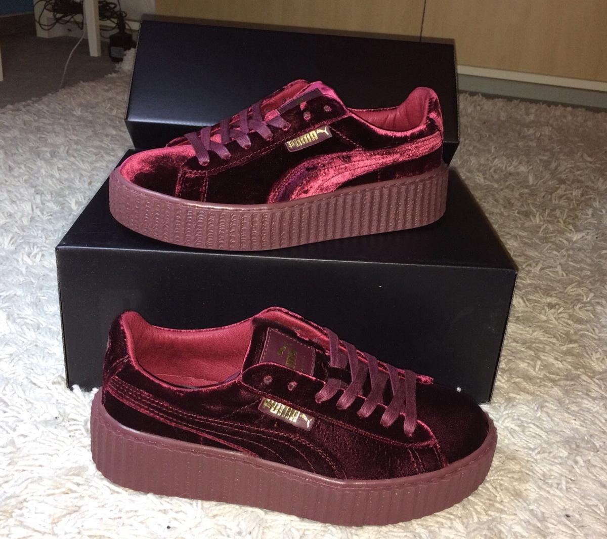 sports shoes 2ccf1 9b724 Red Velvet Creepers (Puma Fenty) in 79798 Jestetten for ...
