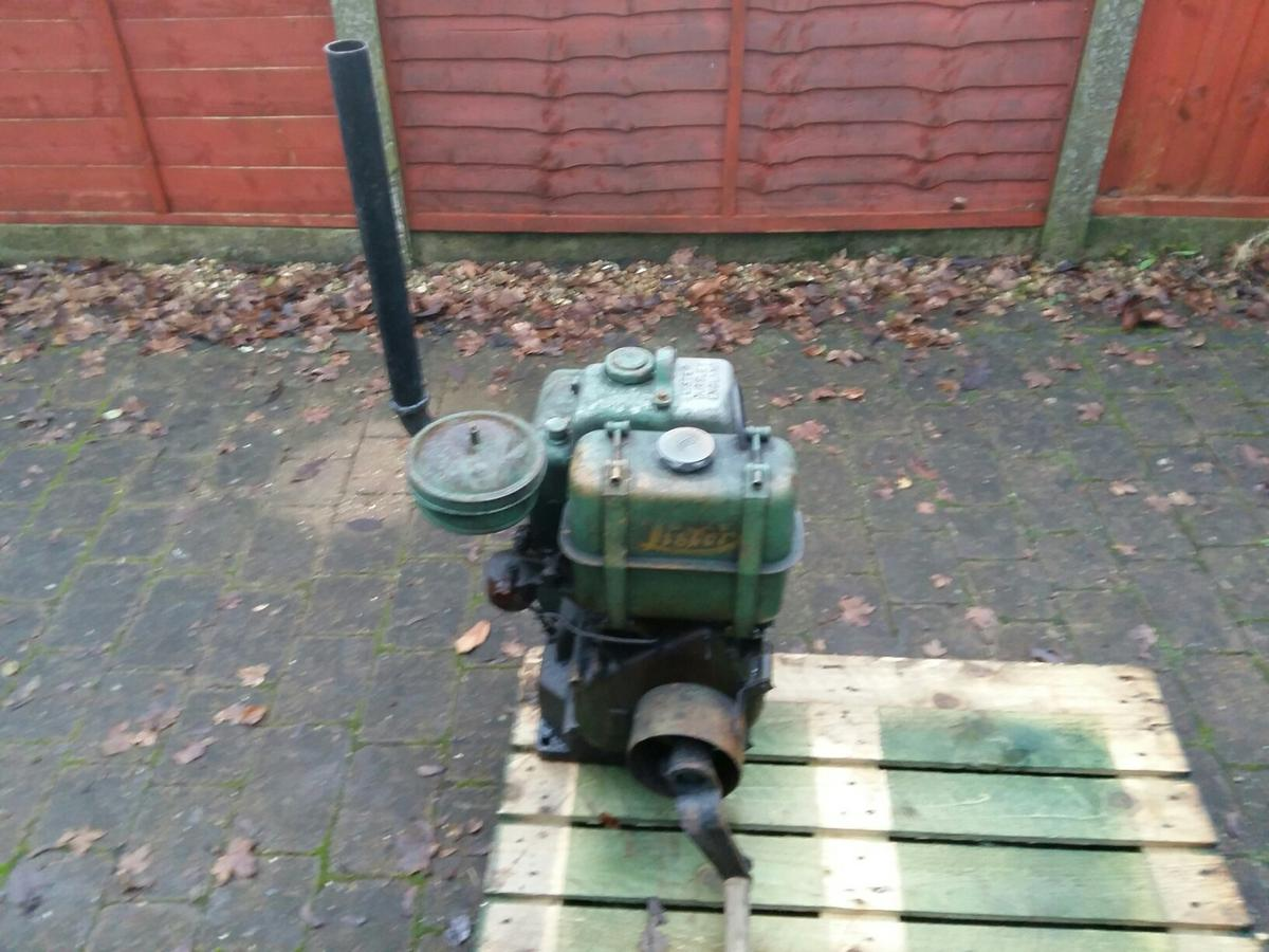 Lister diesel stationary engine saw bench in WA8 Widnes for £100 00