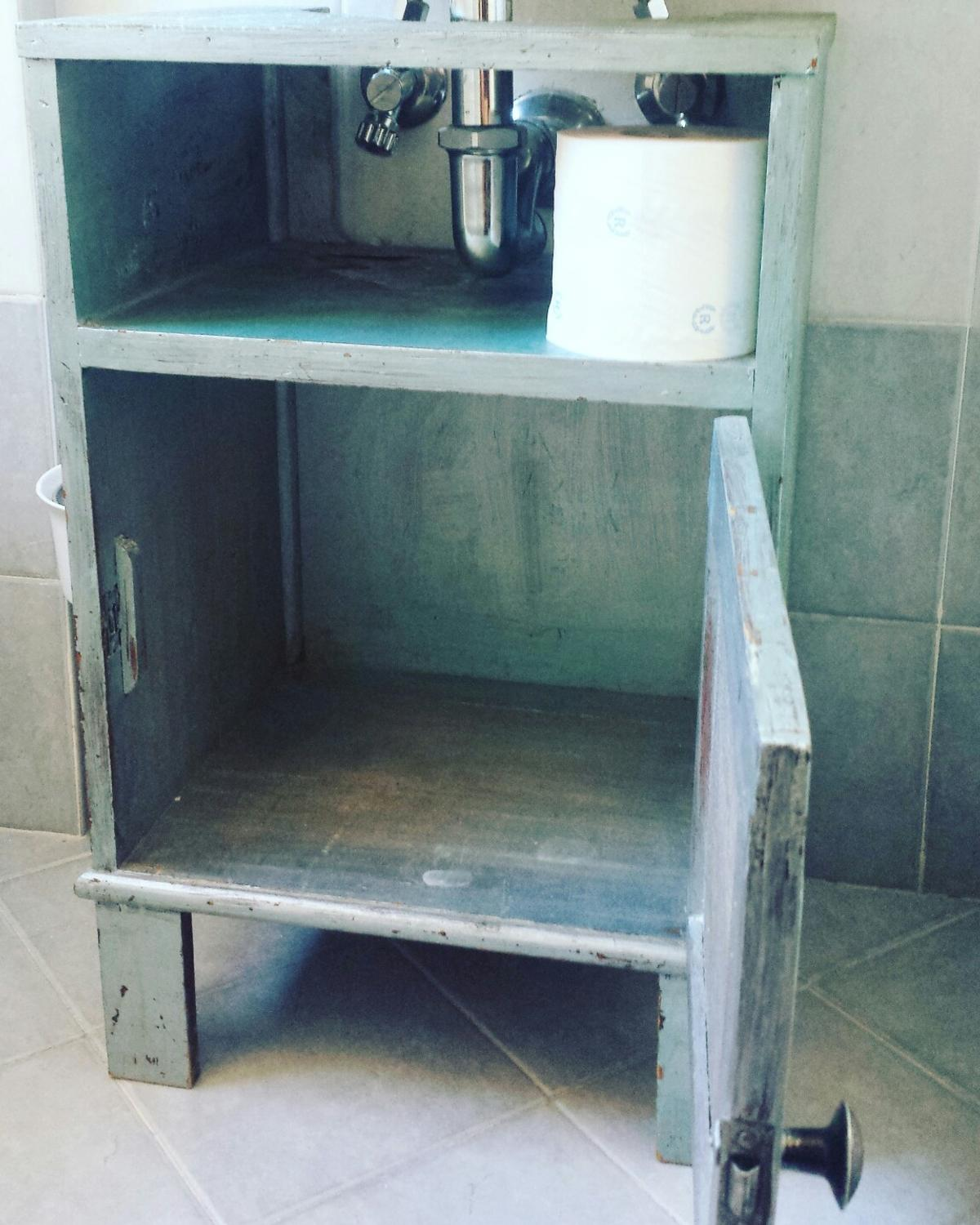 Mobile bagno shabby chic in 00135 Roma für 10,00 € kaufen - Shpock