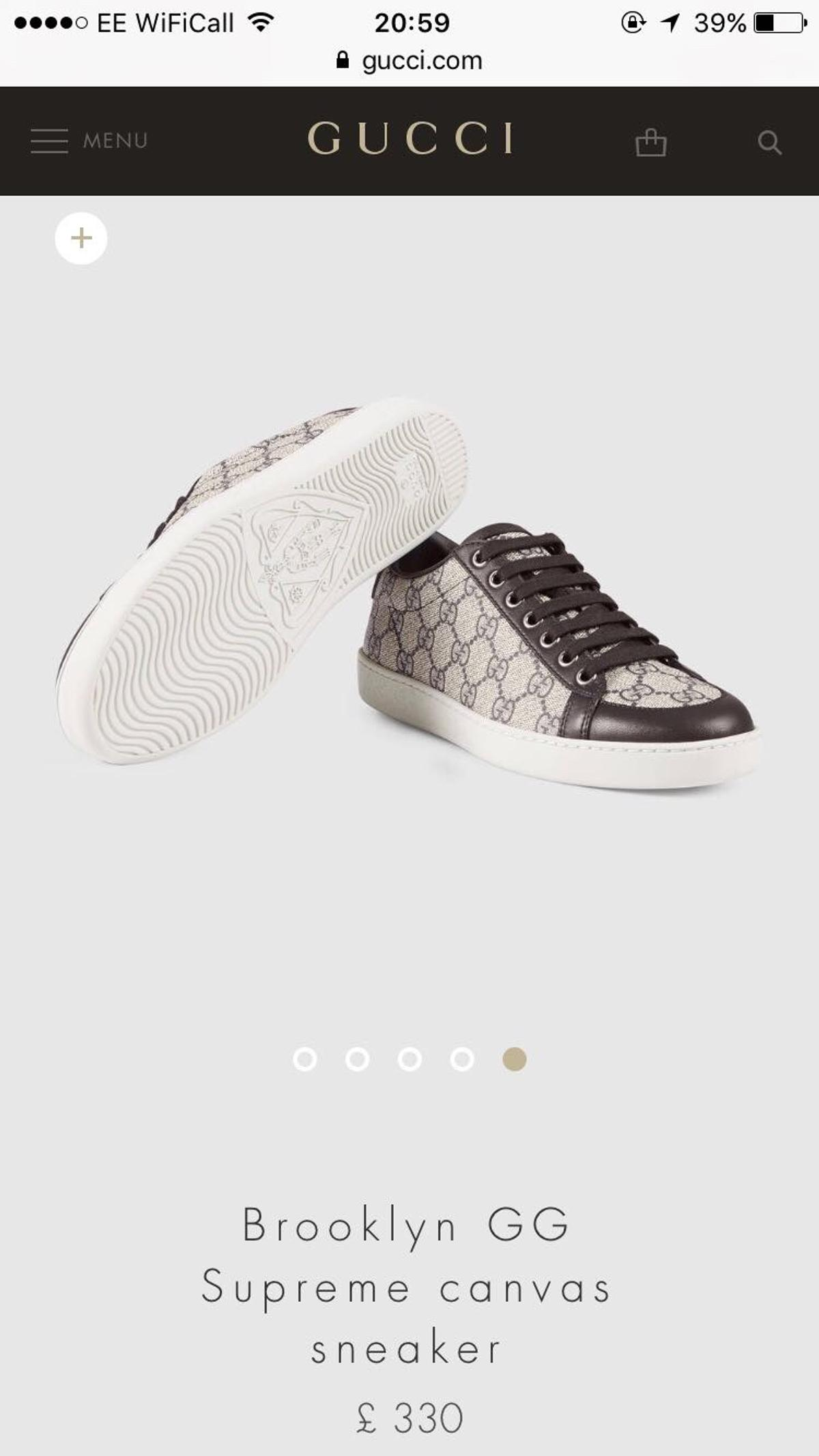 2b5d8764a2e Women s Gucci Trainers Size UK 4 in EC1R London for £200.00 for sale ...
