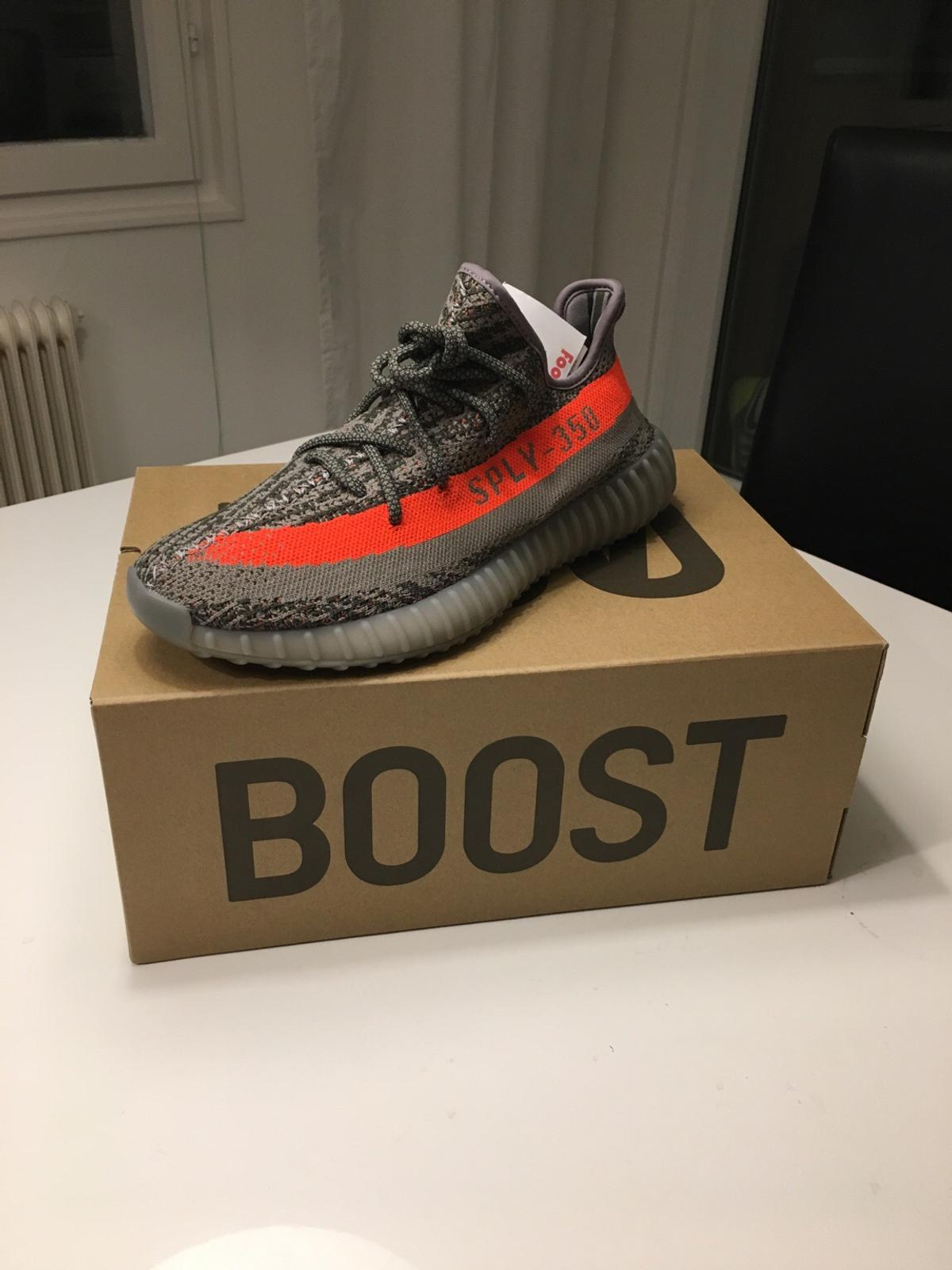 Details zu Adidas Yeezy Boost 350 V2 Static Grey Non Reflective UK 4 5 6 7 8 9 10 11 12 US