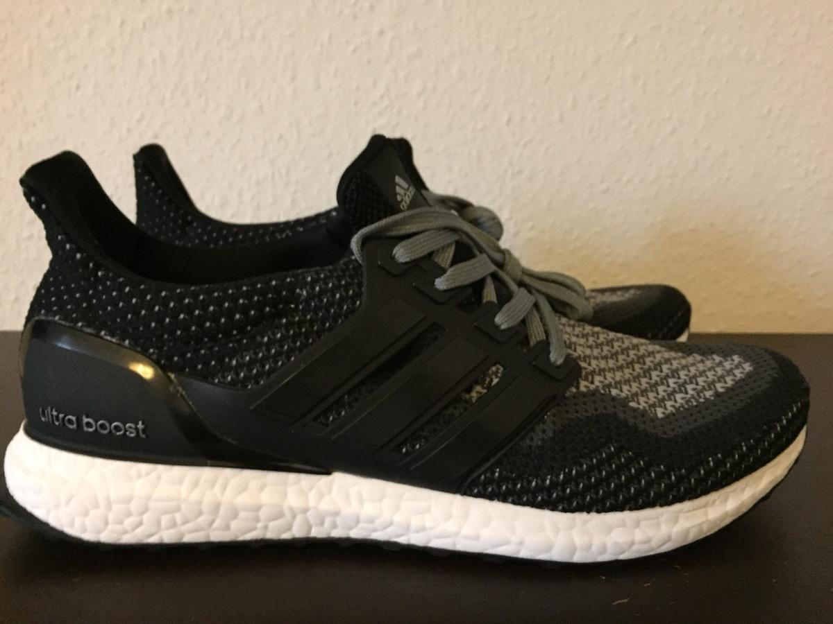 good selling sneakers unique design Adidas Ultra Boost 2.0 Black Grey Gr. 45 Grau in 67549 Worms ...