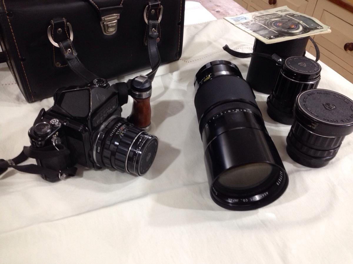 Pentax 6 x7 camera and lenses