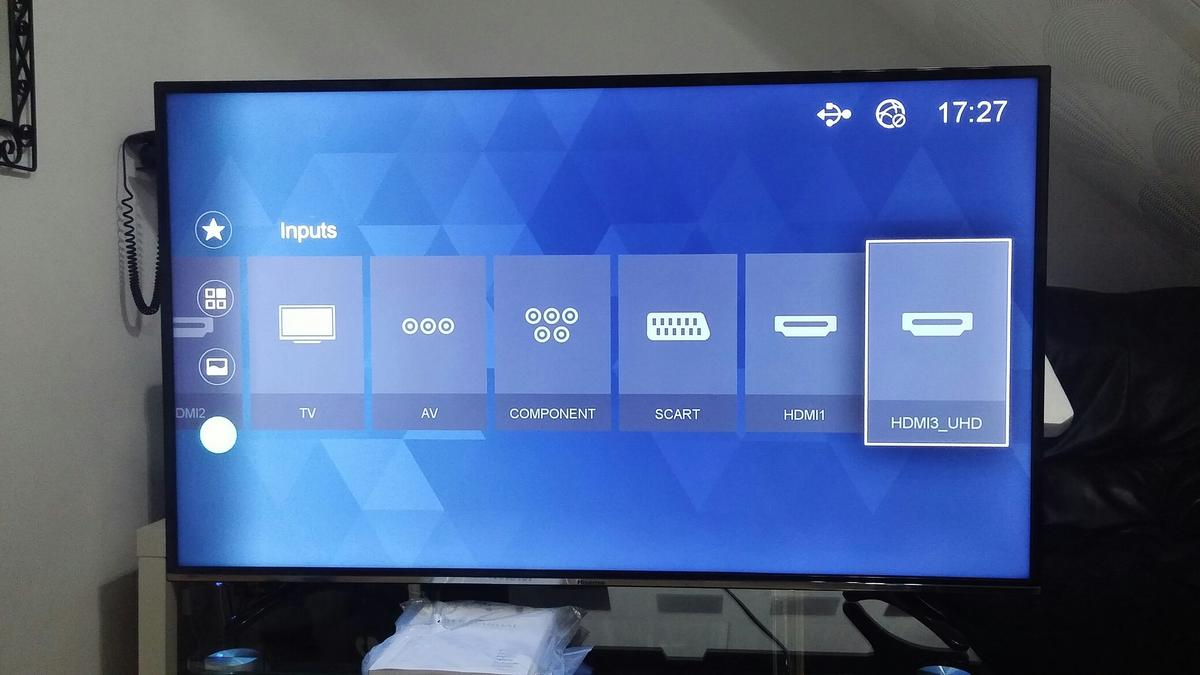 Hisense 43m 3300 4K Smart LED hdr TV in SS12 Wickford for