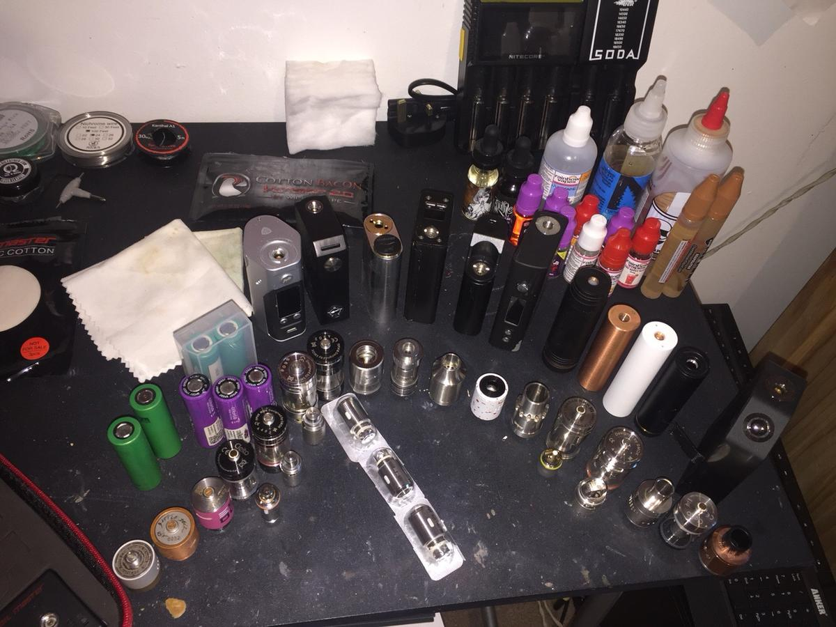 Huge vape job lot in WF10 Castleford for £300 00 for sale - Shpock