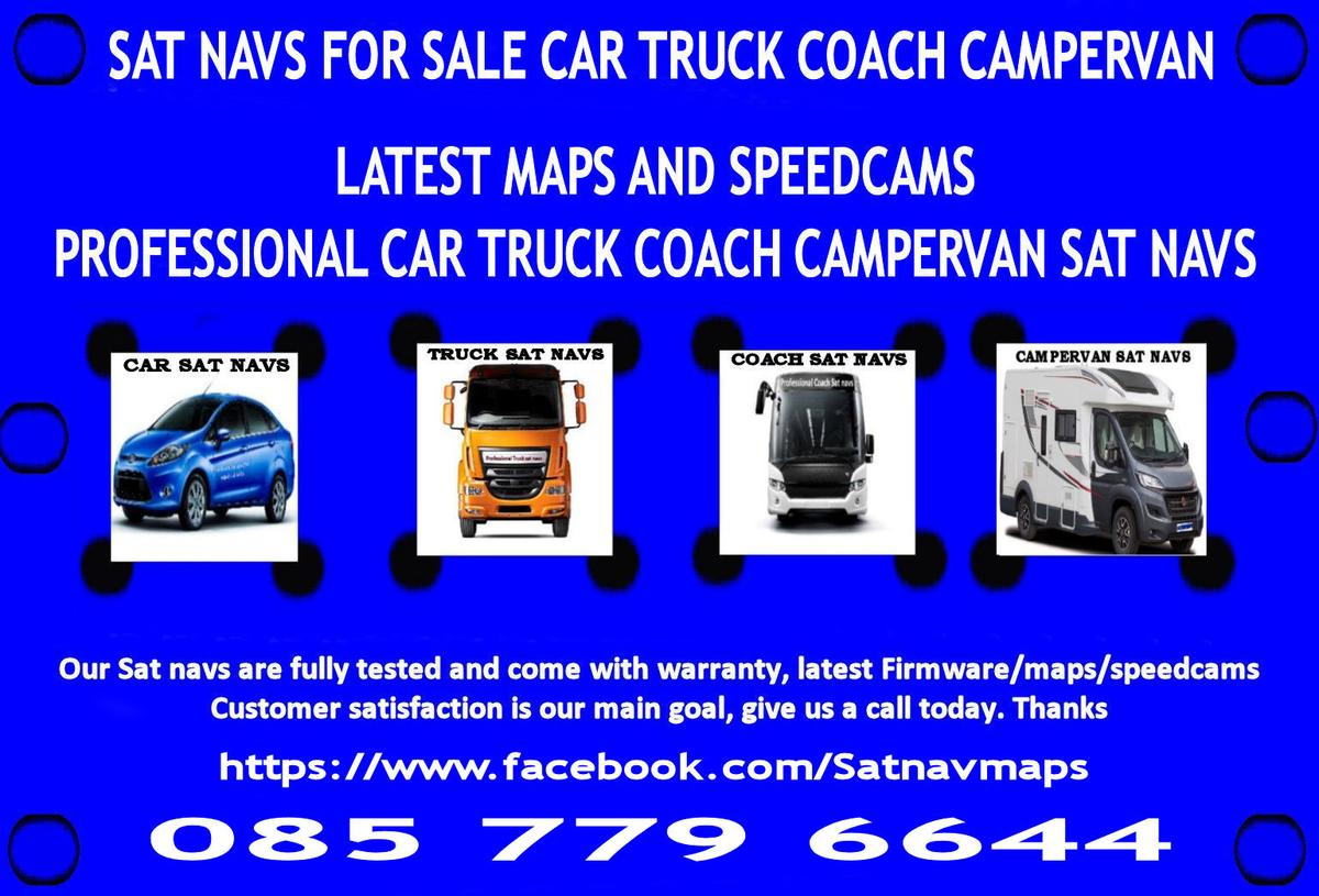 SAT NAV FOR SALE TRUCK COACH CAMPERVAN in Dublin für 25,00 ...