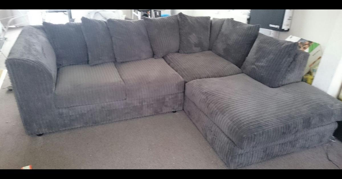 Milo right hand corner sofa - Grey