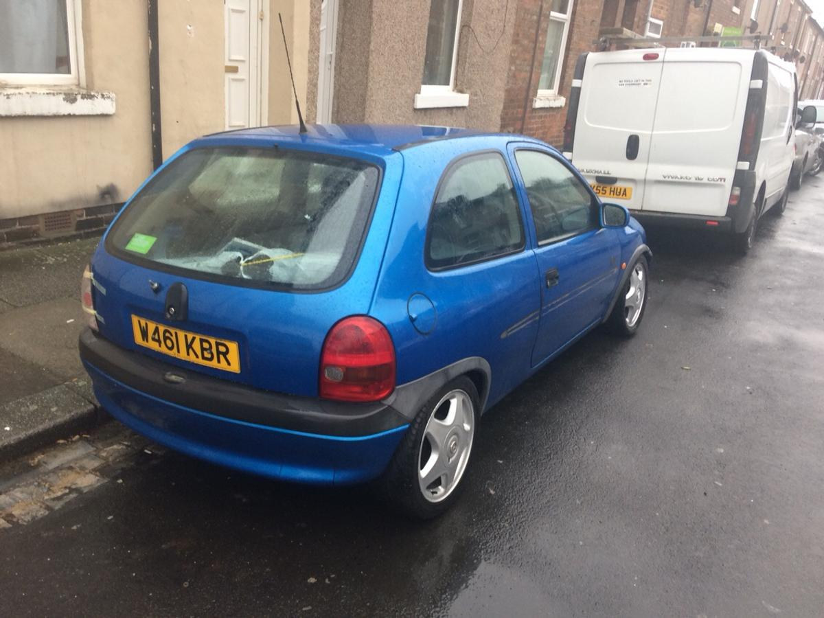 Corsa b sale or swap has couple mods in DL1 Darlington for