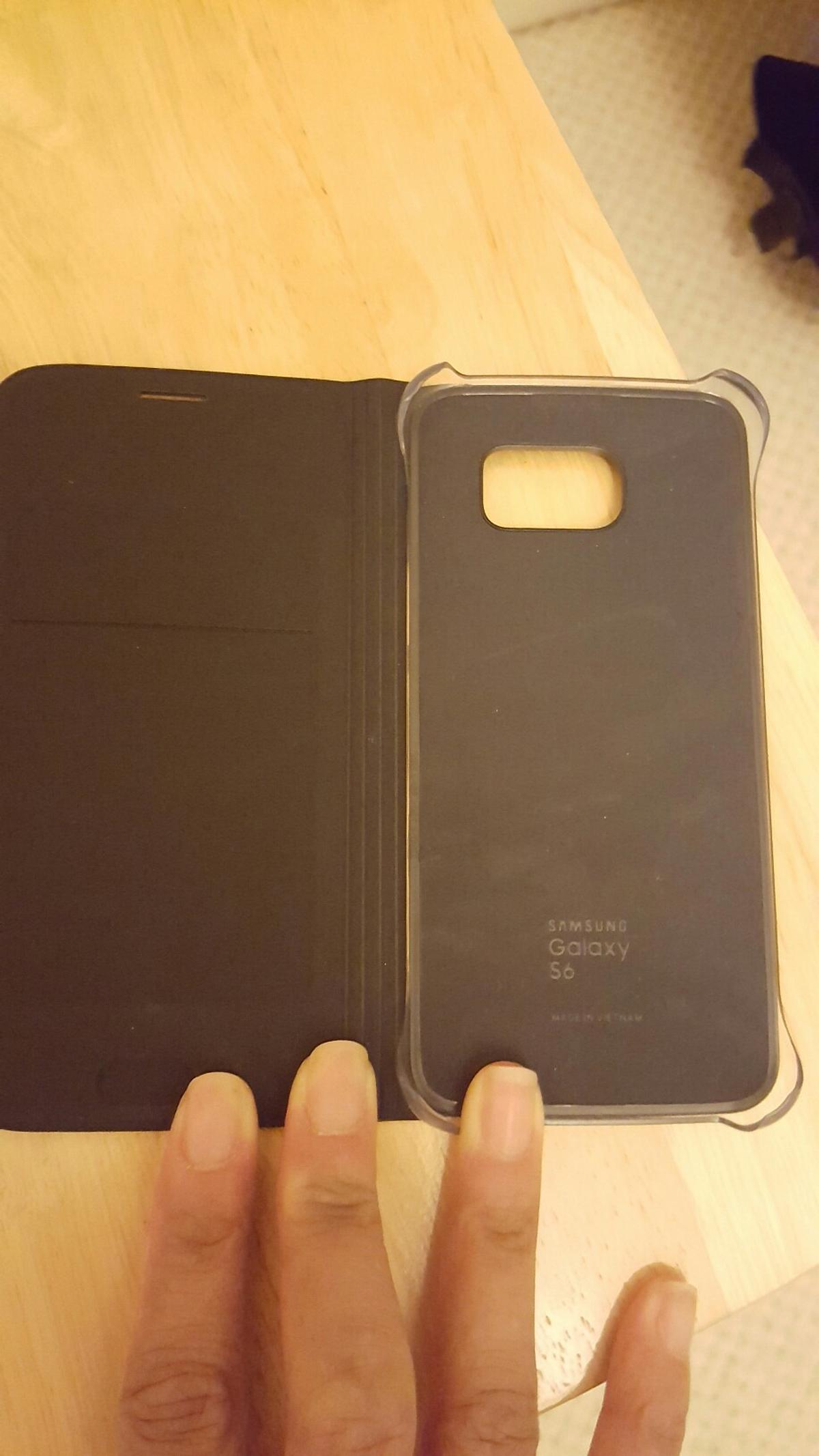 online store 5bdc1 2aae7 £5 OBO Samsung S6 Leather Phone Case