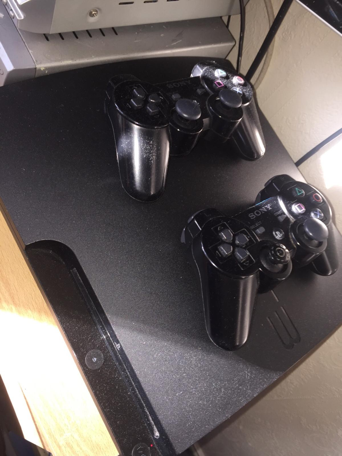 PS3 with 2 controllers and GTA 5