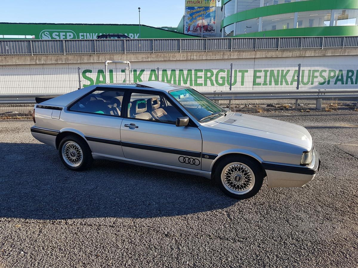 Audi Coupe Gt 5 Zylinder 1985 In 4661 Roitham Am Traunfall For