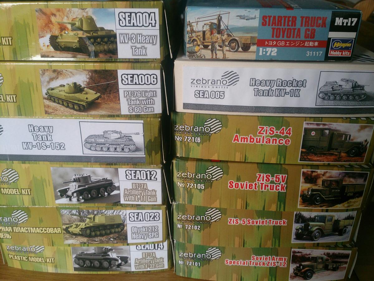 Military Vehicles Model Kits 1:72 Scale in PE21 Boston for