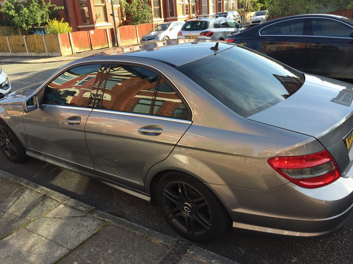 Mercedes C180 Kompressor Sport AMG 2009/59 in M6 Salford for